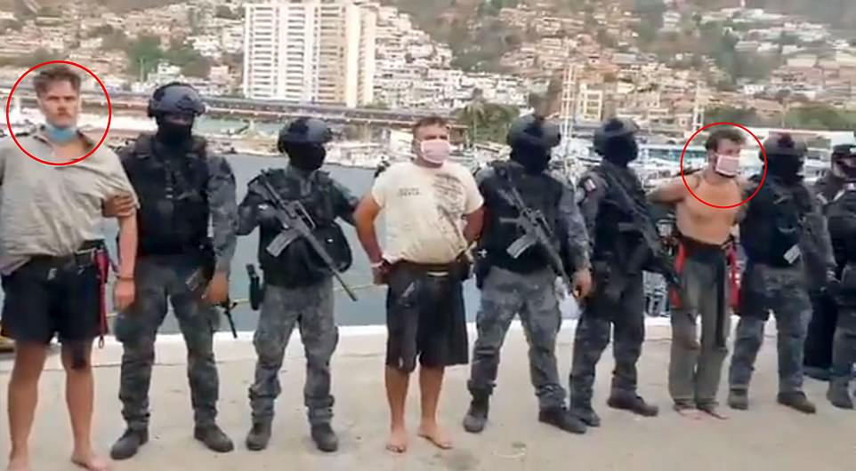 uhapšeni amerikanci