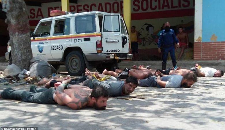 venecuela puč