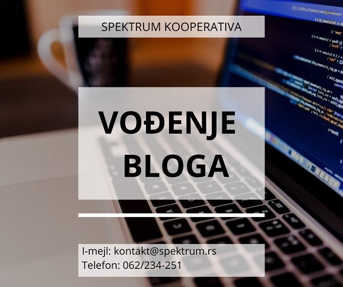 vođenje bloga